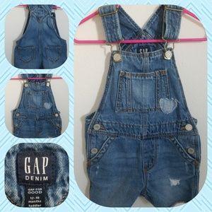 Baby Gap Toddler girl Shorts overalls